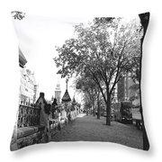 Ottawa Sidewalk Throw Pillow