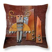 Otto The God Of October Throw Pillow