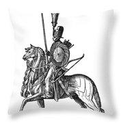 Ottoman Cavalryman, 1576 Throw Pillow