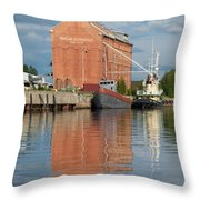 Oulu From The Sea 3 Throw Pillow