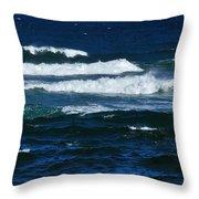 Our Beautiful Ocean Throw Pillow