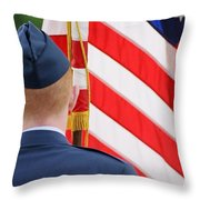 Our Colors Throw Pillow