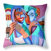 Our First Slow Dance Throw Pillow