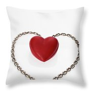 Our Hearts Forever Together Throw Pillow