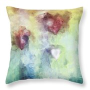 Our Hearts Throw Pillow