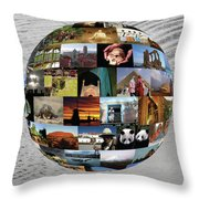 Our Heritage Our Place Throw Pillow