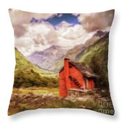 Our Hideaway Throw Pillow