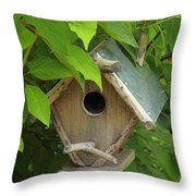 Our Humble Home Throw Pillow