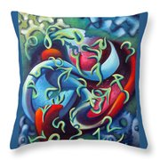 Our Inner Clocks Throw Pillow