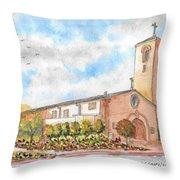 Our Lady Of Assumption Catholic Church, Claremont, California Throw Pillow