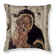 Our Lady Of Don Throw Pillow