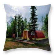 Our Lady Of Grace Beaver Creek Yt Throw Pillow