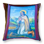 Our Lady Of Guadalupe 3 Throw Pillow