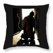 Our Lady Of Guadalupe Celebrations Throw Pillow