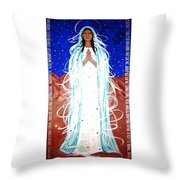 Our Lady Of Lucid Dreams Throw Pillow