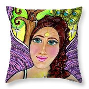 Our Lady Of Self-actualization Throw Pillow