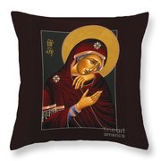 Our Lady Of Sorrows 028 Throw Pillow