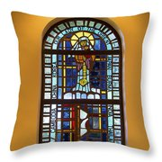 Our Lady Of The Orient Throw Pillow