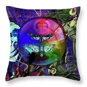 Our Life Spectrum Throw Pillow
