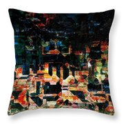 Our Little Town Throw Pillow