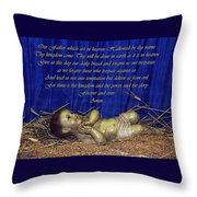 Our Lord Throw Pillow