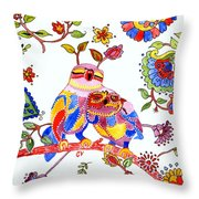 Our Love Created This Throw Pillow