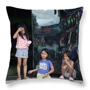 Our Mind Don't Know Yet Throw Pillow
