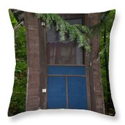 Our Outhouse - Photograph Throw Pillow