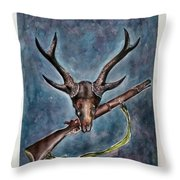 Our Pride Their Extinction Throw Pillow