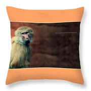 Our Superorganismal Features Throw Pillow