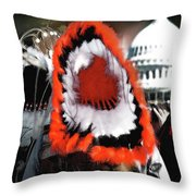 Our Time Comes Throw Pillow by Wayne King