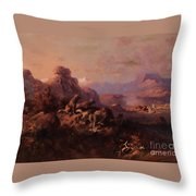 Our Turn Next Throw Pillow