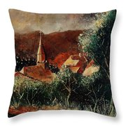 Our Village Opont Throw Pillow