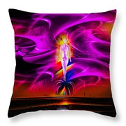 Our World Is A Magic - Wellness Throw Pillow