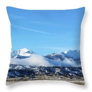 Ouray And Chipeta Throw Pillow