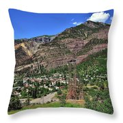 Ouray, Colorado Throw Pillow