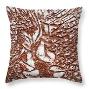 Ours - Tile Throw Pillow