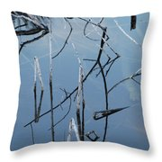 Out From The Water Throw Pillow