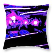 Out In Space Throw Pillow