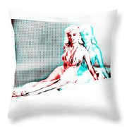 Out Of Body Experience Throw Pillow
