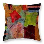 Out Of Bounds Throw Pillow