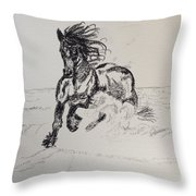 Out Of Darkness Comes Strength Throw Pillow