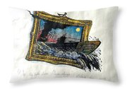 Out Of Frame Throw Pillow
