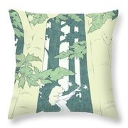 Out Of Hand Throw Pillow
