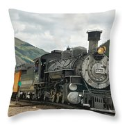 Out Of Here Throw Pillow