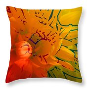 Out Of It Throw Pillow