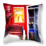 Out Of My Calling Area Throw Pillow