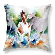 Out Of Nowhere Throw Pillow by Christie Michelsen
