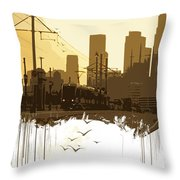 Out Of Ordinary  Throw Pillow