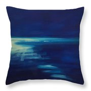 Out Of The Blue Throw Pillow
